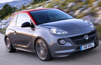 Vauxhall, Adam, S, front, moving