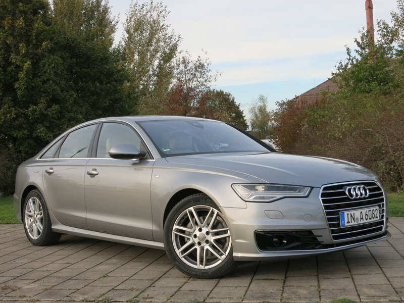 Audi, A6, saloon, parked, face-lift