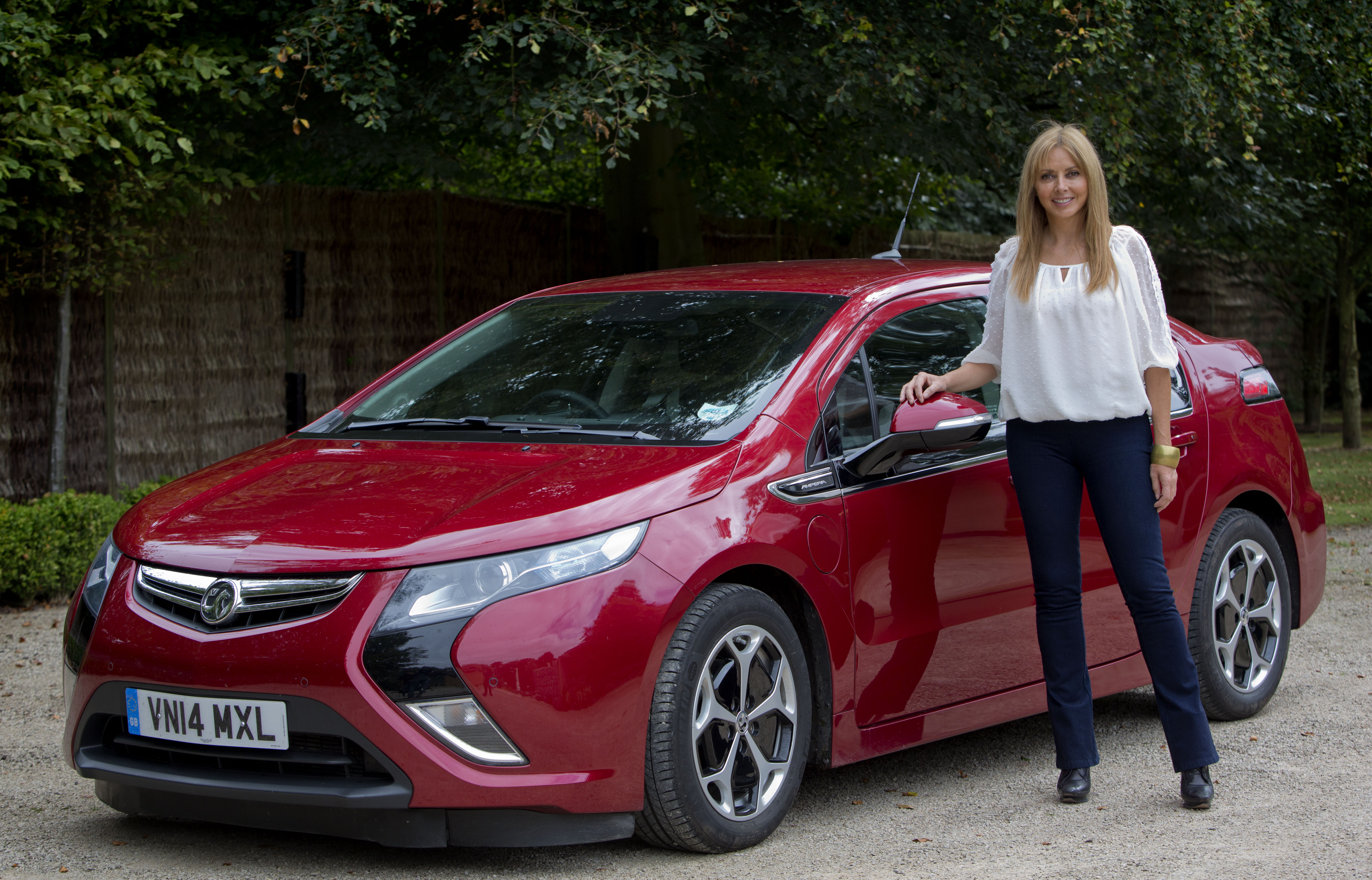 Vorderman Converts To The Ampera Business Car Manager