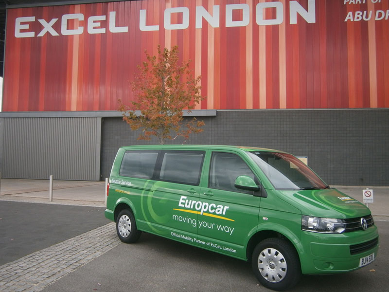 ExCeL London and Shuttle Bus 800