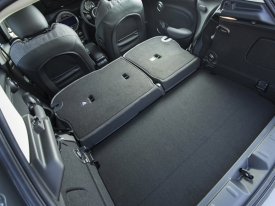 MINI, Cooper, D, practicality, fold, down, rear, seat