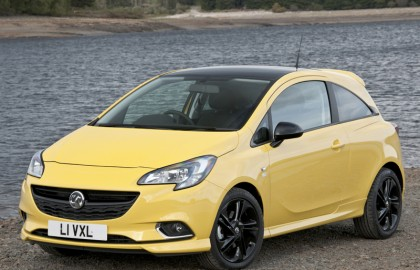 Vauxhall, corsa, three, door, hatchback