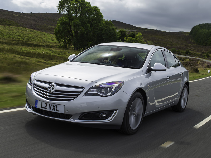 Vauxhall, Insignia, moving, driving