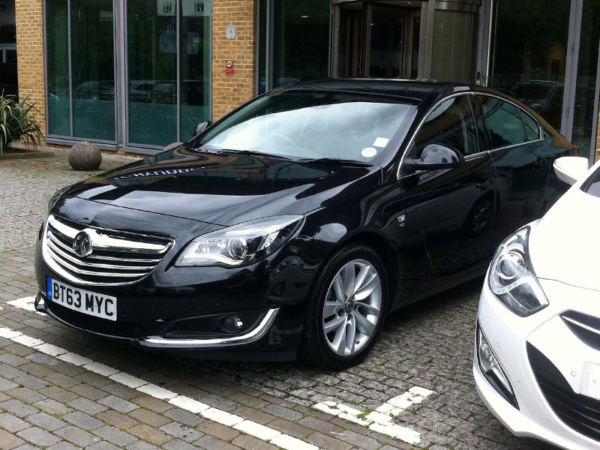 Vauxhall, Insignia, business, trip , parked