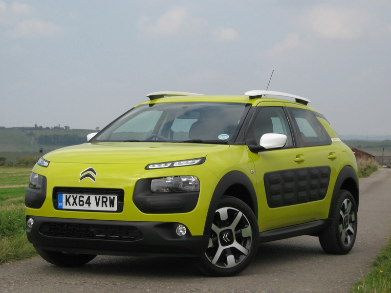 Citroen C4 Cactus Hdi 100 Review Business Car Manager