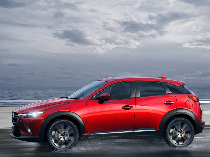 mazda unveils all new cx 3 at los angeles business motoring. Black Bedroom Furniture Sets. Home Design Ideas