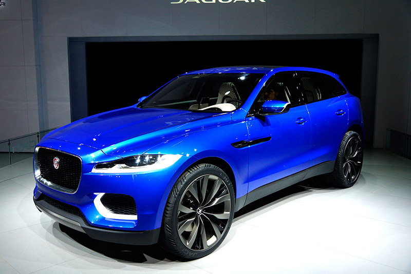 jaguar to build sporty f pace crossover from 2016. Black Bedroom Furniture Sets. Home Design Ideas