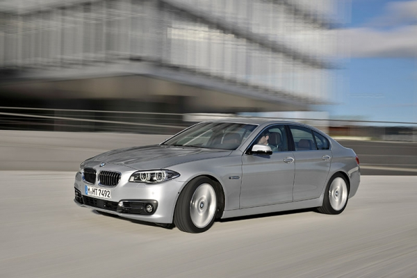 The overall winner - The BMW 5 Series