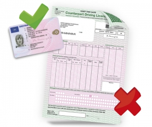 how to find driving licence number uk