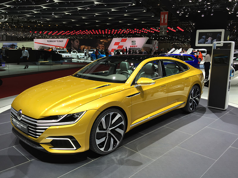 New Passat Cc Previewed With Sport Coupe Gte Concept New