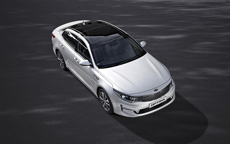 New Kia Optima exterior 2