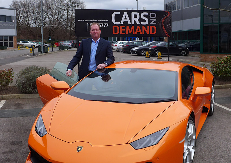 Paul Brown cars on demand