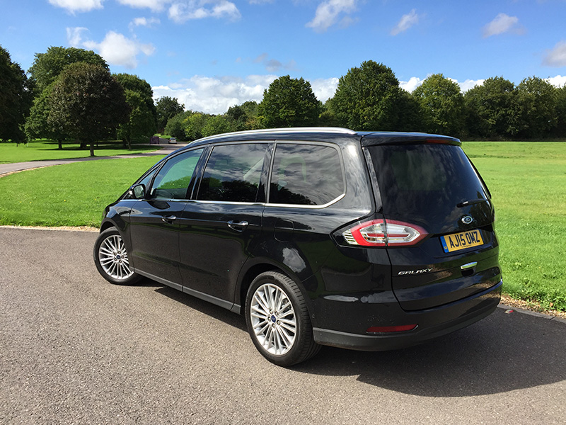 2016 Ford Galaxy Review >> Ford Galaxy 2.0 TDCi 180 Titanium review: For when the S ...