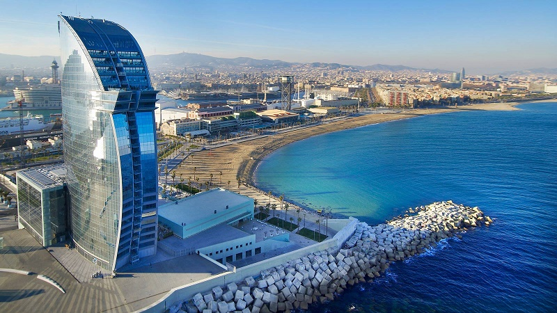 Conference venue the luxury seafront hotel W Barcelona