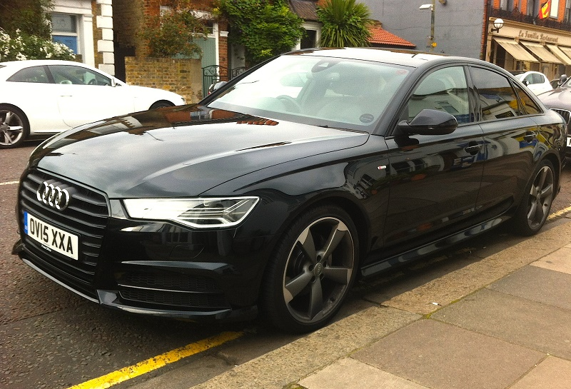 Audi A6 Ultra Black Edition Business Car Manager