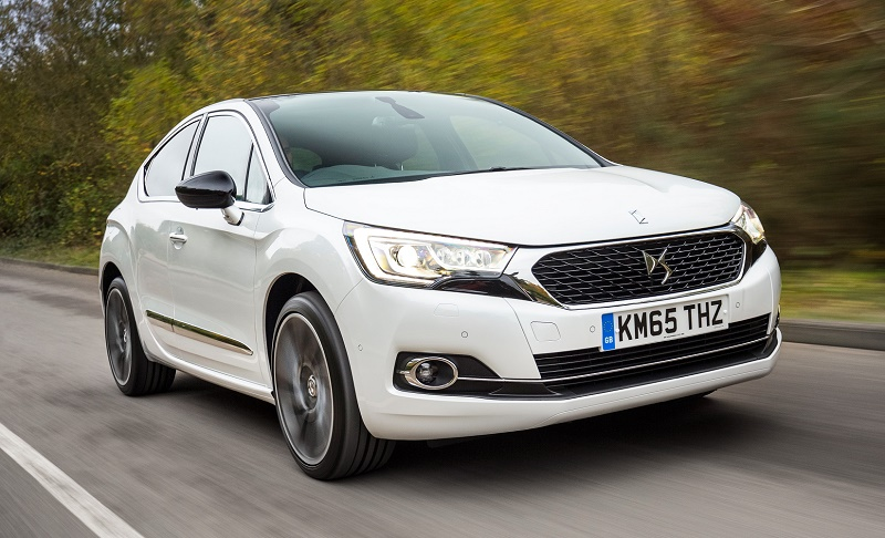 The new DS4, second model for Citroen's new luxury brand
