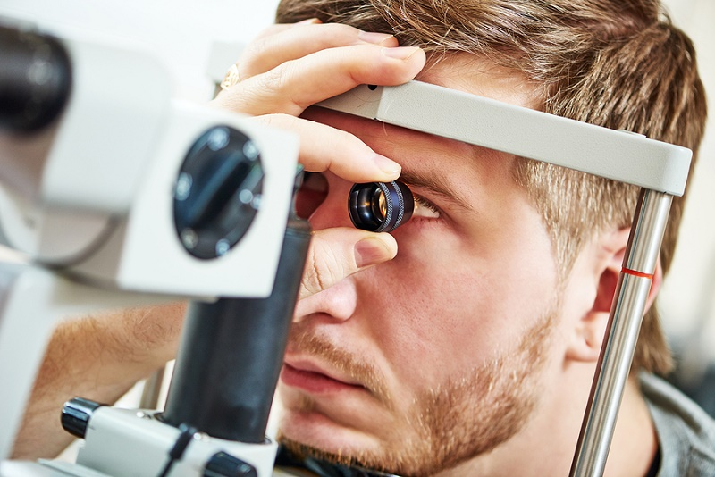 Eye test medical report