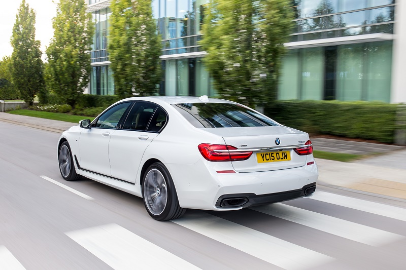 The new BMW 7Series Xdrive