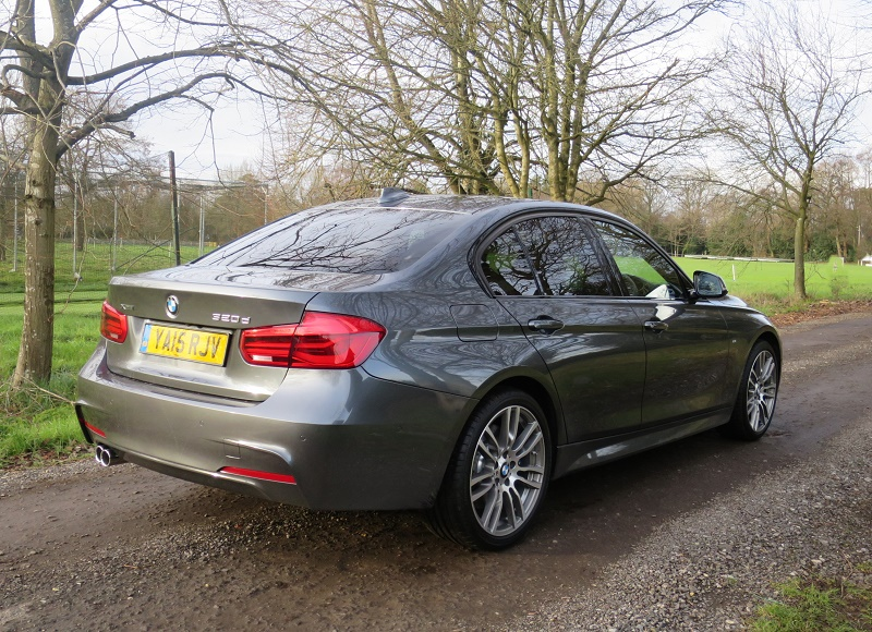 Twin tail pipes for the BMW 320d Xdrive M Sport