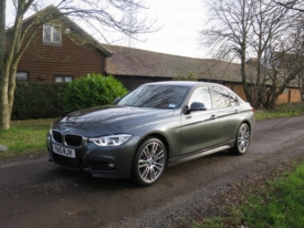 BMW 320d does the business
