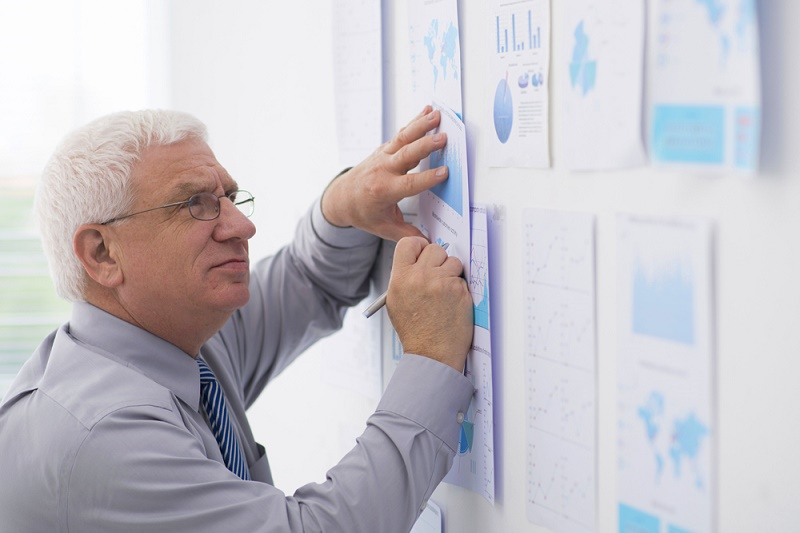 Examining business reports