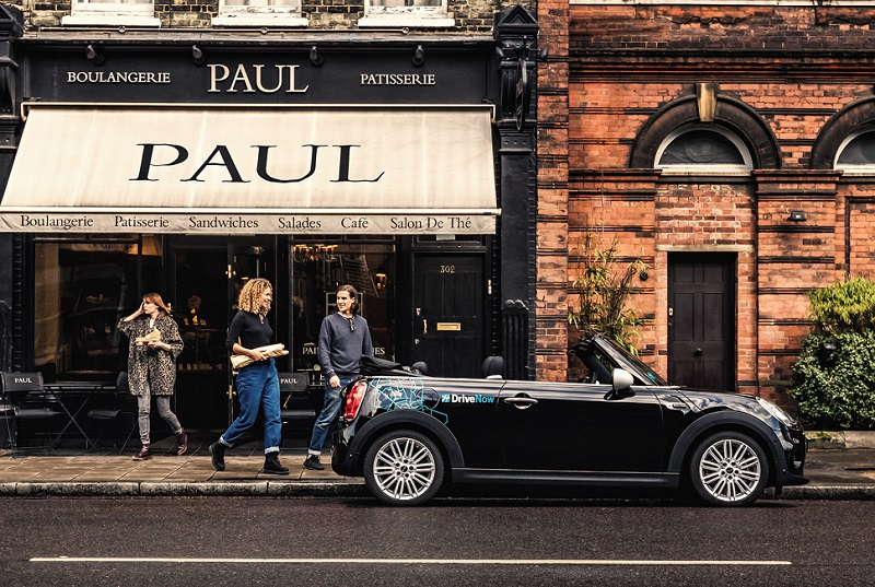 DriveNow Mini Cooper Convertible lets you make the most of summer in the city