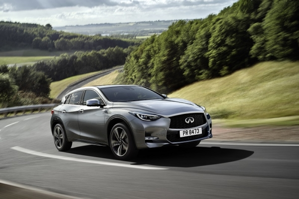 Infiniti sales - breaking records in Britain and Europe