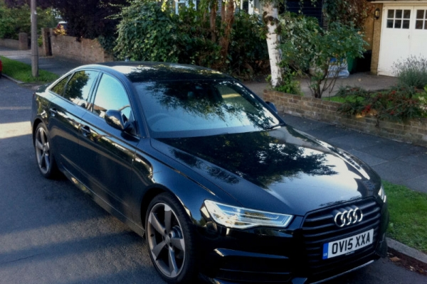Our business cars - Audi A6 Ultra Black Edition