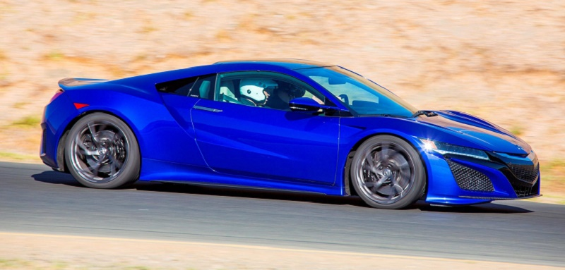 The new Honda NSX making its action debut at Goodwood Festival of Speed
