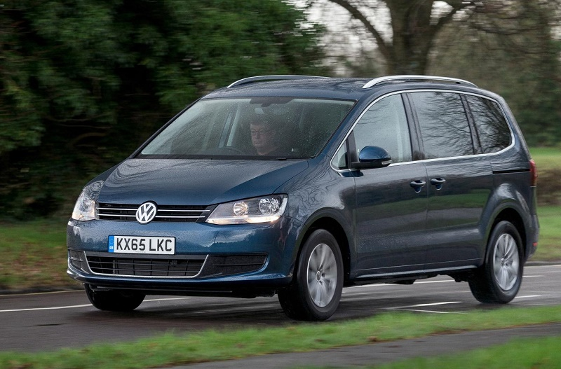 The new Volkswagen Sharan SEL review