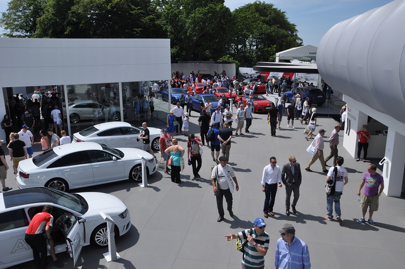 Trade Stands Goodwood Festival Speed : Debuts for goodwood moving motor show business car