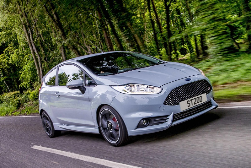 The new Ford Fiesta ST200