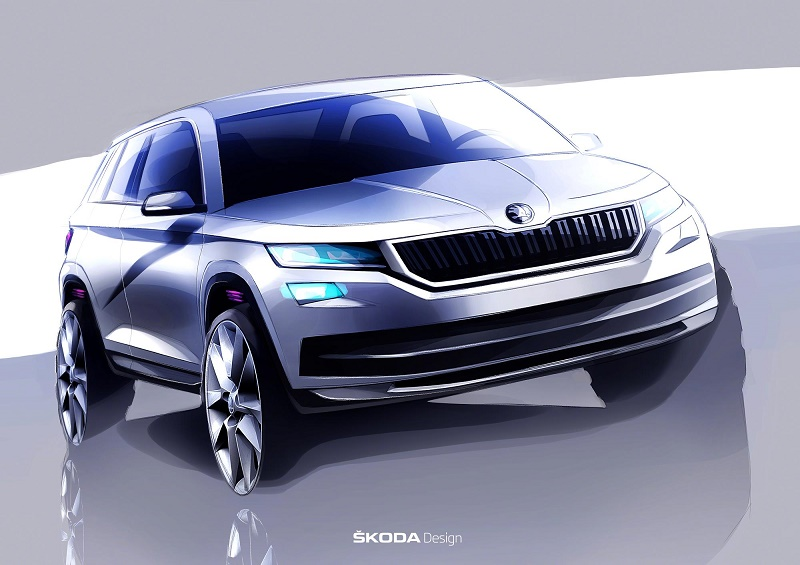 new 7 seater skoda kodiaq suv business car manager. Black Bedroom Furniture Sets. Home Design Ideas
