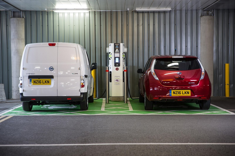 Nissan electric charging