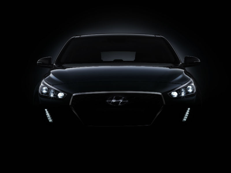 First glimpse of the new generation Hyundai i30
