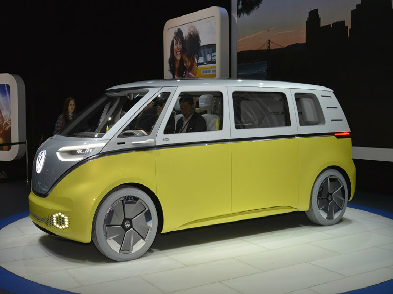 vw id buzz reinvents type 2 microbus business car manager. Black Bedroom Furniture Sets. Home Design Ideas