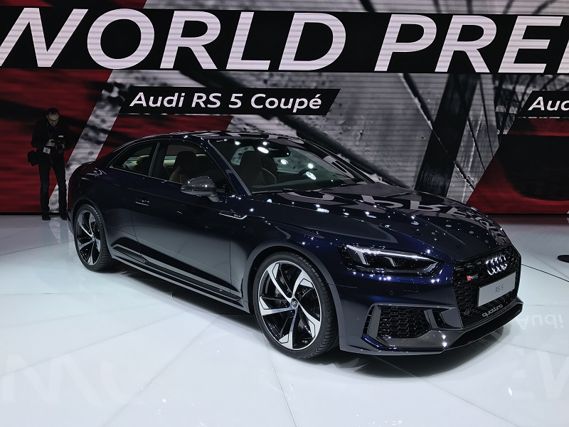 New Audi RS5 Coupe shows design direction
