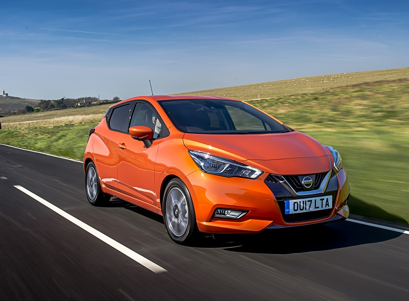 Nissan_Micra 2017 front dynamic