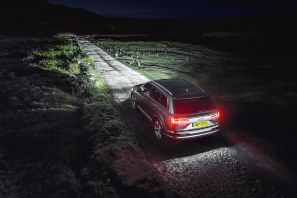 Audi Q7 matrix lighting