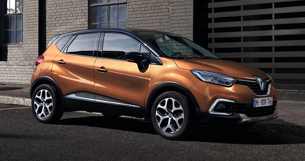 bolder new Captur