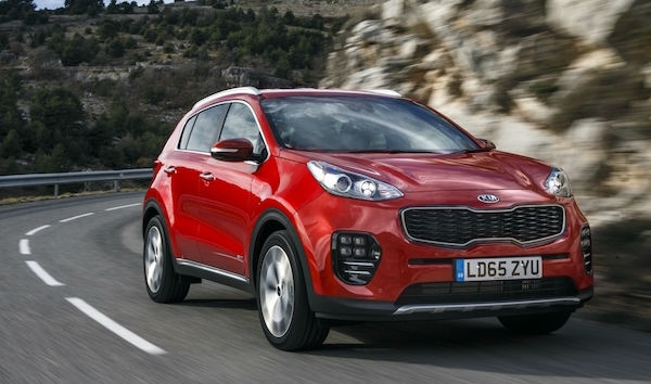 Kia Sportage PCH leasing offer: £259 a month