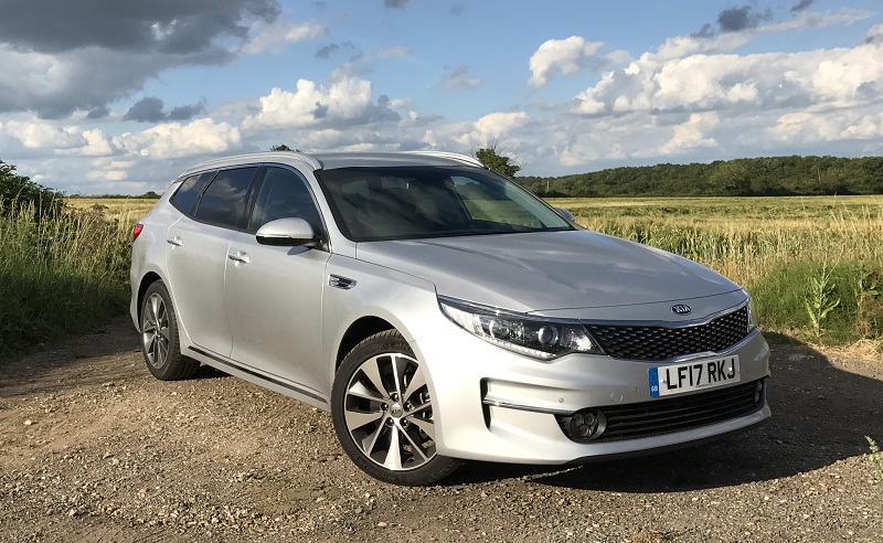 Kia Optima LT review 2 front