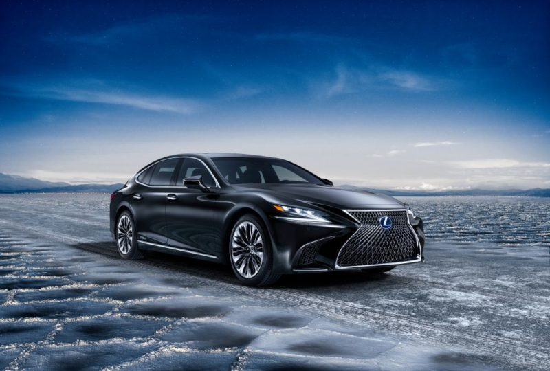New Lexus LS safety systems