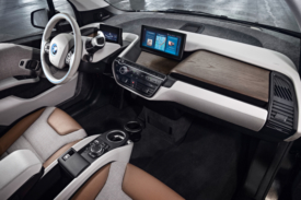 Refreshed BMW i3 features a light and airy interior