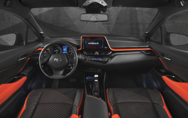 Toyota C-HR-Hy-Power Concept at Frankfurt Motor Show