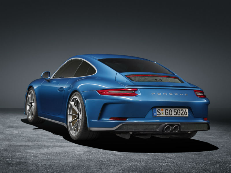 Porsche 911 GT3 with Touring Pack rear
