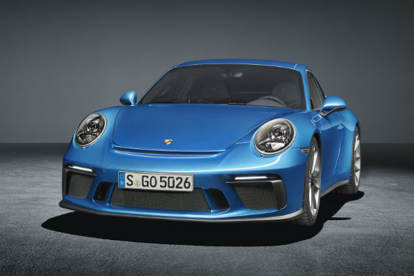 Porsche 911 GT3 with Touring Pack front