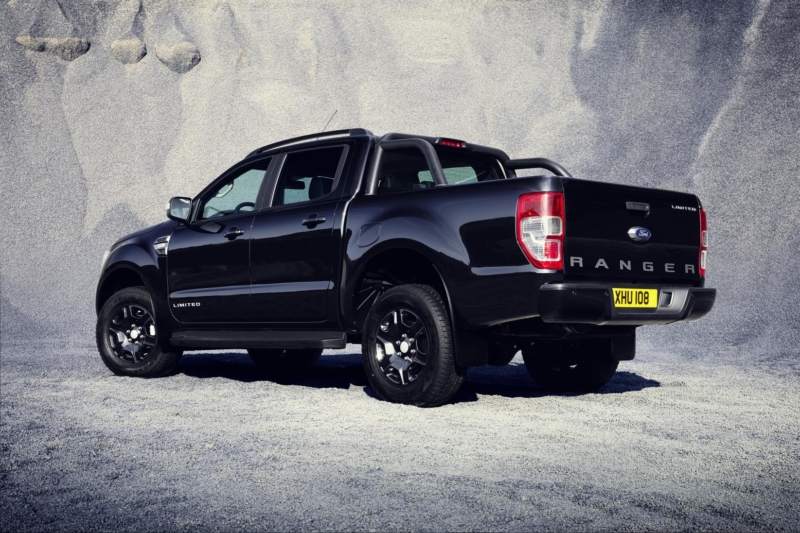 New Ford Ranger Double-Cab Pickup