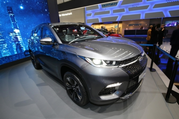 Chery EXEED TX at Frankfurt Motor Show 2017