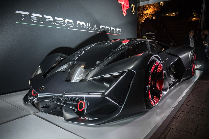 Lamborghini Electric Supercar Looks To Future Business Car Manager